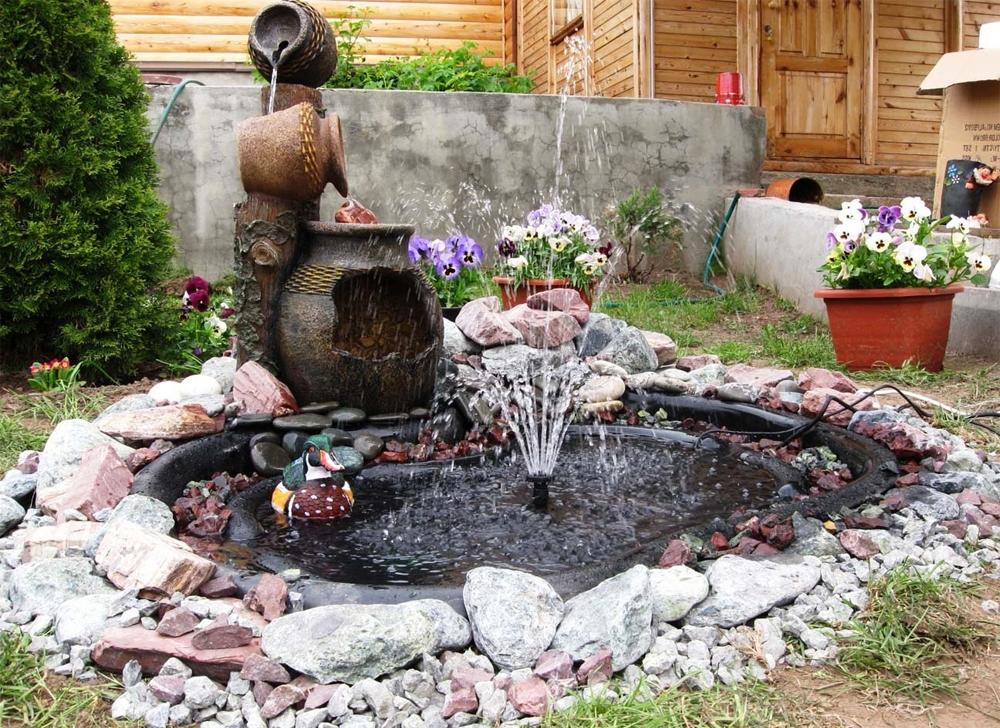фонтан в архитектурном декорефонтан в архитектурном декоре