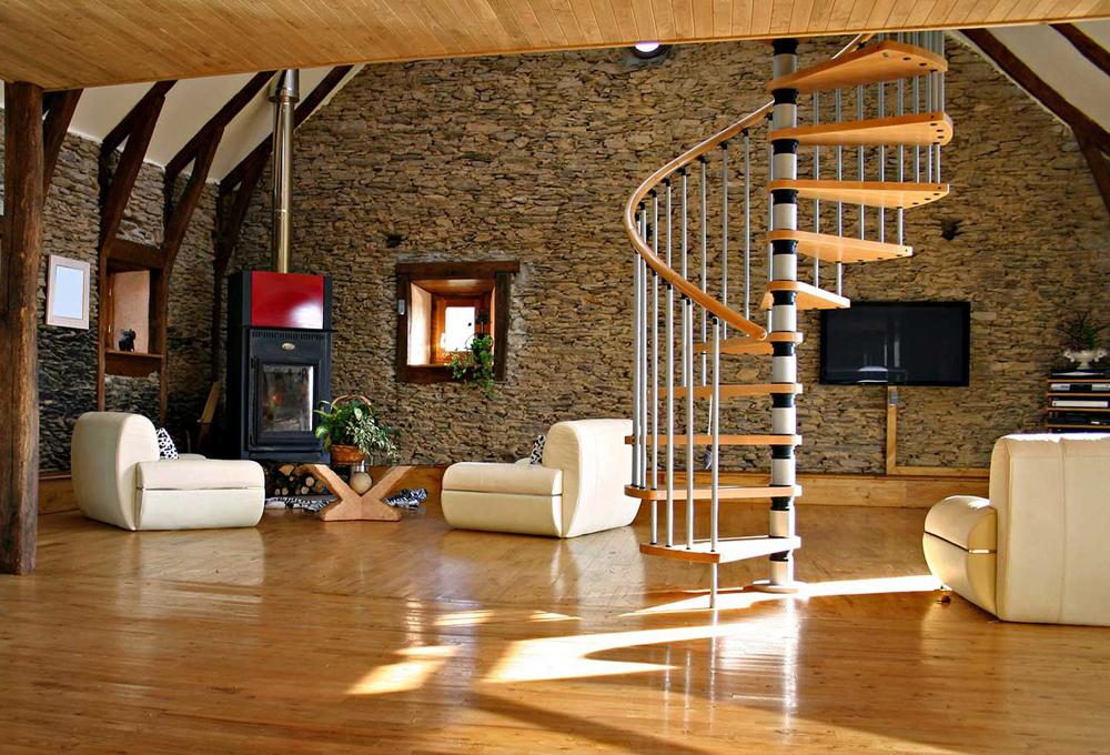 лестница стала важным архитектурным элементом