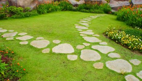 Garden stone design ideas