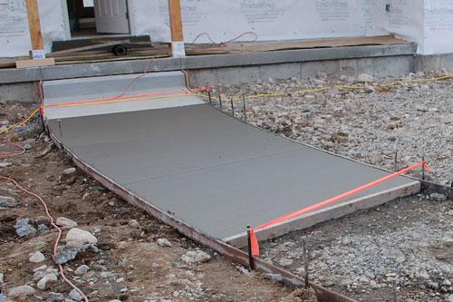 Ремонт бетонных дорожек на даче своими руками