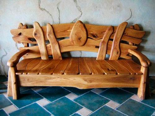 Поделки из дерева. мебель
