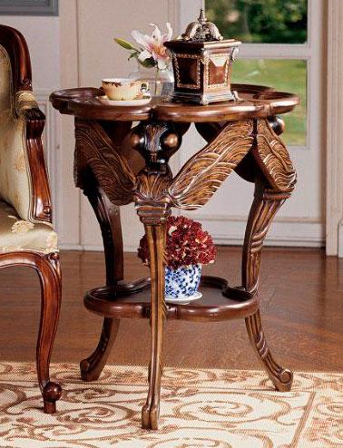 Мебель делают из ценных пород дерева